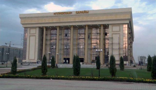 "Дворец ""Туркестан"" в новом центре Шымкента"