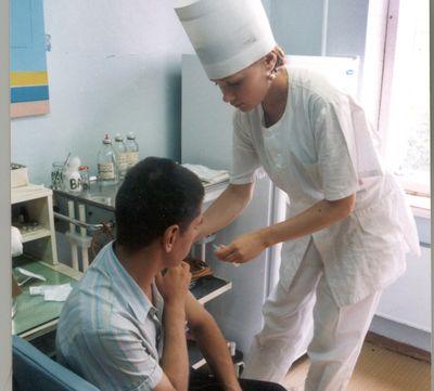 В области началась вакцинация от гриппа