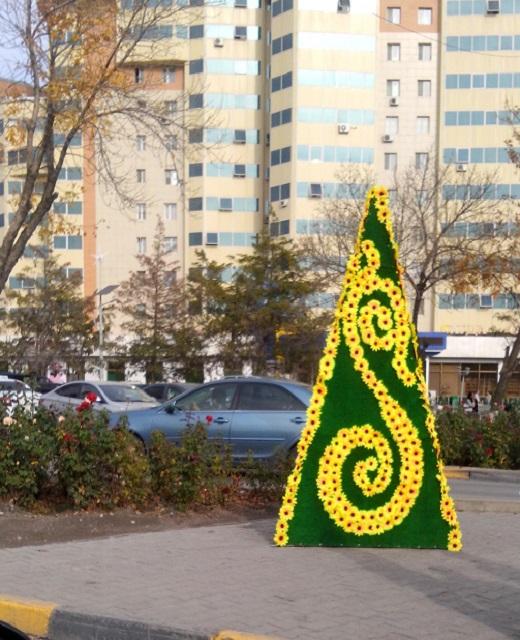 Новые МАФы появились на улицах Шымкента