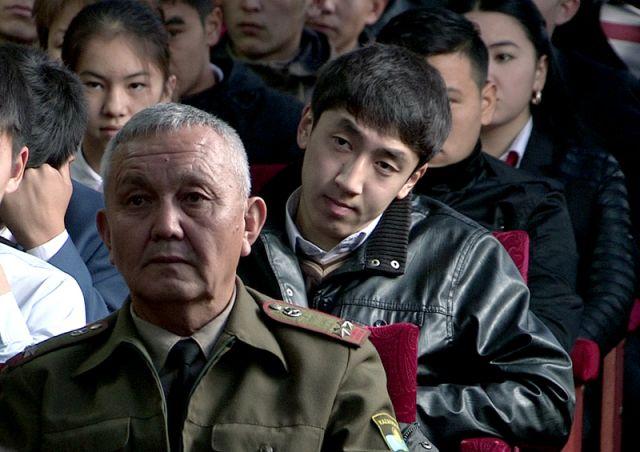 Шымкентских студентов приглашают на службу в Нацгвардию РК