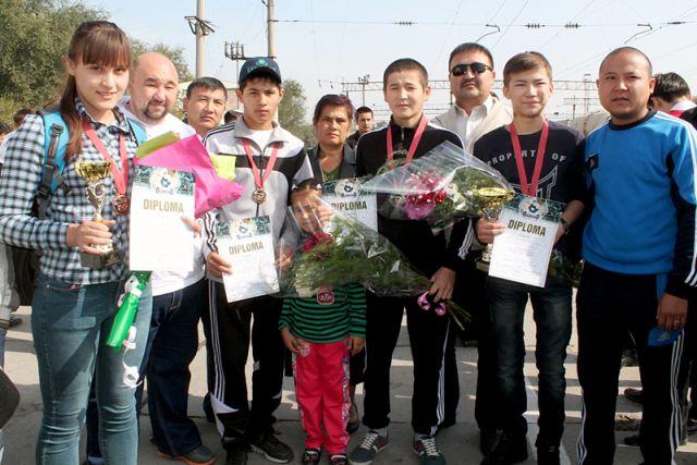 Шымкентские кикбоксеры стали чемпионами и призерами Кубка мира