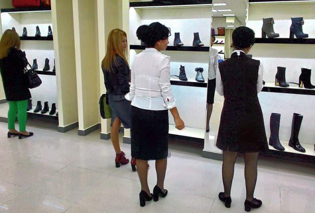 Подчеркнуть индивидуальный стиль покупателям помогает опытный персонал «Изуми»