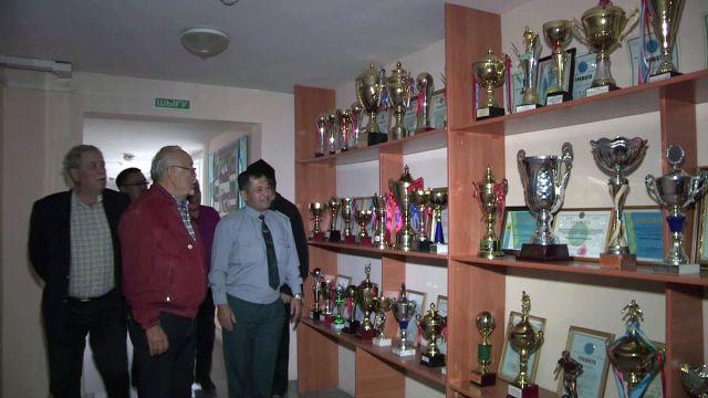Встреча пограничников с Асанали Ашимовым
