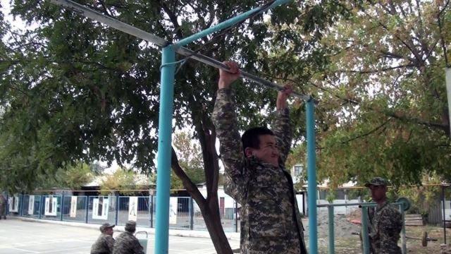Обучение в военно-технической школе министерства обороны РК