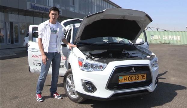 """Новый автомобиль """"Mitsubishi ASX"""" 2014 г.в, который предоставил автосалон """"Aster Avto"""""""