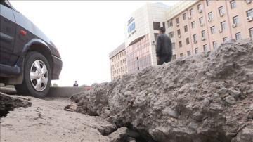 Так выглядит новое асфальтное покрытие по улицы Мадели Кожа