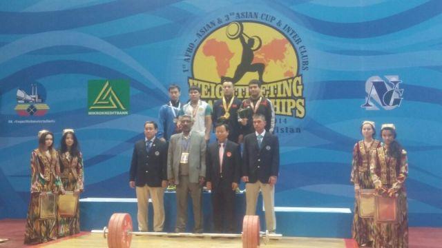 Спортсмены ЮКО СДЮСШОР по тяжелой атлетике заняли призовые места в Ташкенте