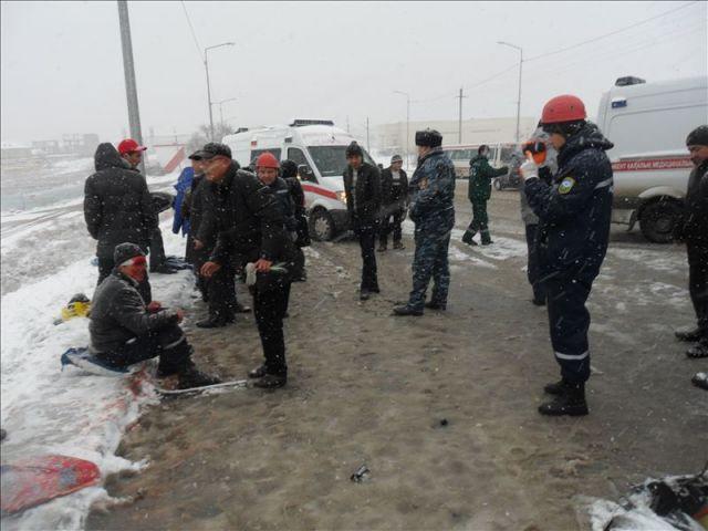 авария в Шымкенте