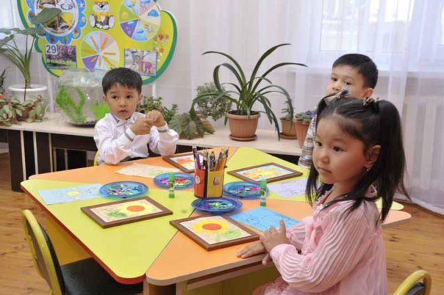 Государственные детские сады работают с 07:00 до 18:30
