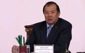 Прокурор ЮКО - Ибрагим Иманов