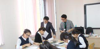 в Интеллектуальной школе химико-биологического направления прошла неделя иностранных учителей