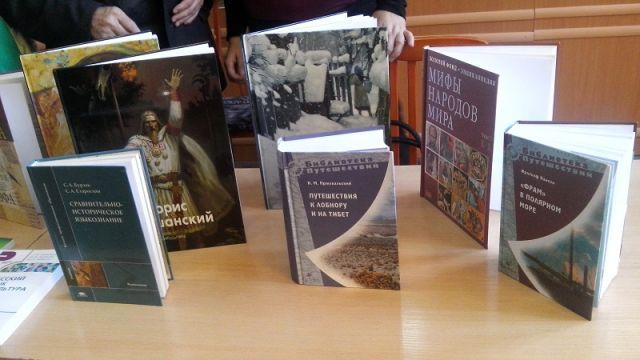 Консул РФ подарил шымкентской библиотеки 30 новых книг