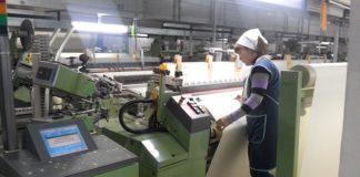 Ткани, нитки, пряжу, постельное белье и полотенца шымкентского производства вновь появятся на местном рынкеТкани, нитки, пряжу, постельное белье и полотенца шымкентского производства вновь появятся на местном рынке