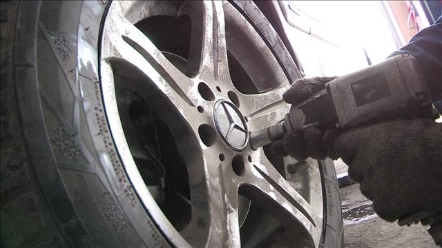 Замена шин поможет избежать штрафов