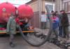"""Выкачивание воды на 112 квартале """"осенизатором"""""""