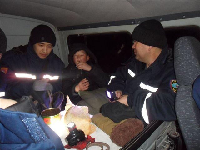 спасатели в горах