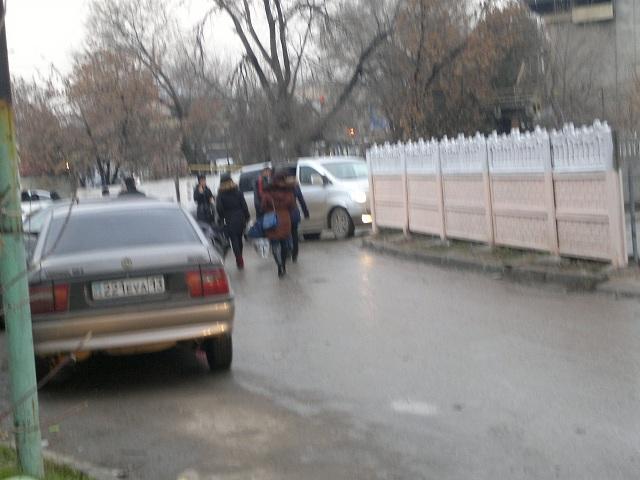 Стоянка для таксистов