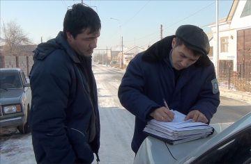 В Шымкенте идут рейды по взысканию административных штрафов с должников
