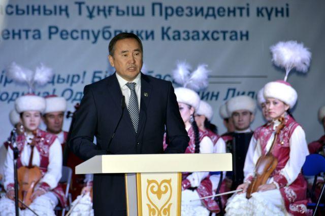 Шымкент отпраздновал день Первого Президента