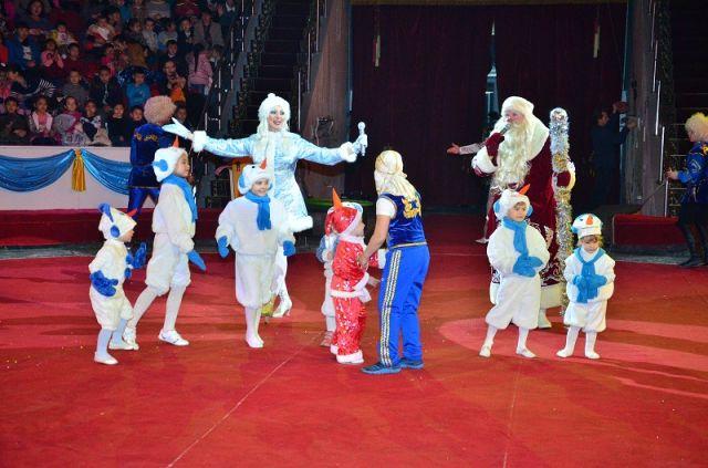 В праздничной программе задействованы сразу несколько цирковых династий