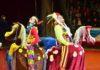 Грандиозную шоу-программу с участием дрессированных животных, клоунов, акробатов и рекордсменов книги рекордов Гинесса представили звезды московского цирка