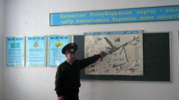 В Шымкенте начались проверки кабинетов начальной военной подготовки