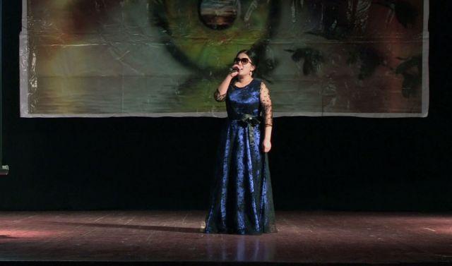 В областной филармонии имени Шамши Калдаякова прошел творческий вечер Айнур Смандияр.