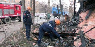 В Шымкенте создана специальная комиссия по взрыву газа в жилом доме