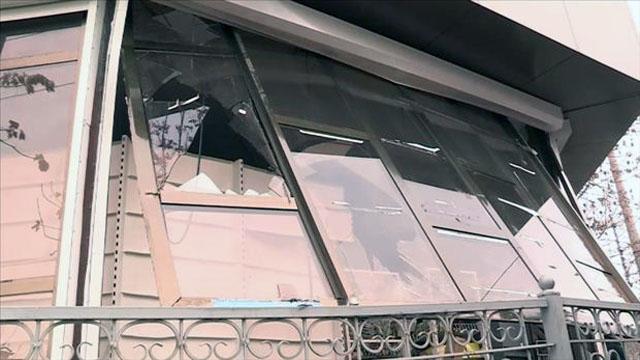 Взрыв газа в многоквартирном жилом доме