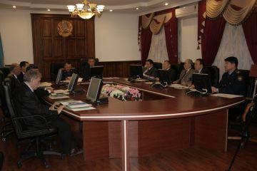 Заседание общественного совета при ДВД ЮКО