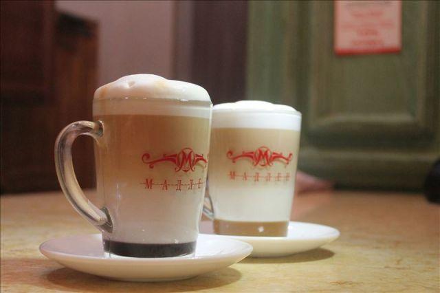 Чай-латте выглядит очень аппетитно, а вкус - великолепен!