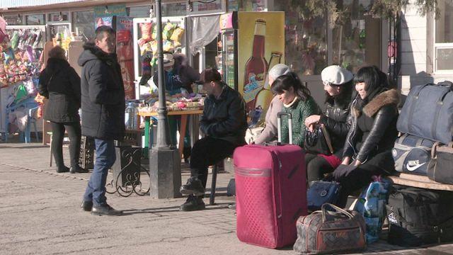 вокзал в Шымкенте