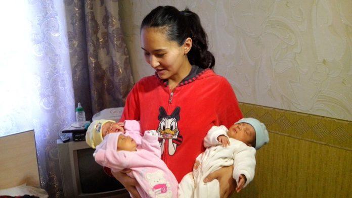 В Южном Казахстане увеличился коэффициент рождаемости