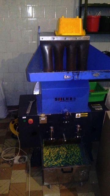 Машина для переработки брака, которого на заводе не много всего 1 изделие на 1000 штук