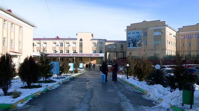 Областная детская больница в Нурсате