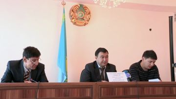 В областном департаменте юстиции прошел обучающий семинар для нотариусов Южного Казахстана