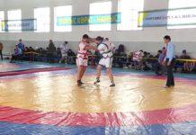 Борцы сражаются за путевки на Чемпионат страны