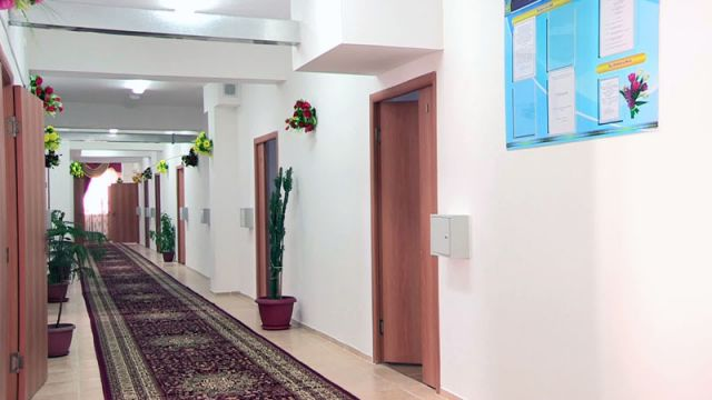 В Толебийском районе открыли современное здание психоневрологического диспансера