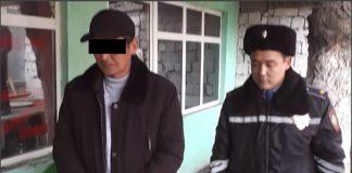 Туркестанские полицейские задержали мужчину с килограммом марихуаны