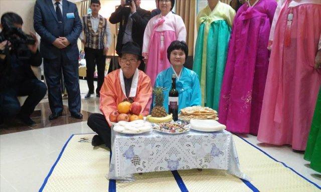 В Центре гостью встречали все этнокультурные объединения