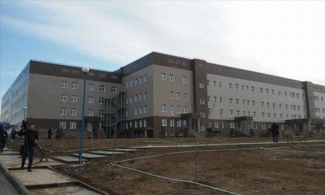"""Новая детская больница в микрорайоне """"Асар"""""""