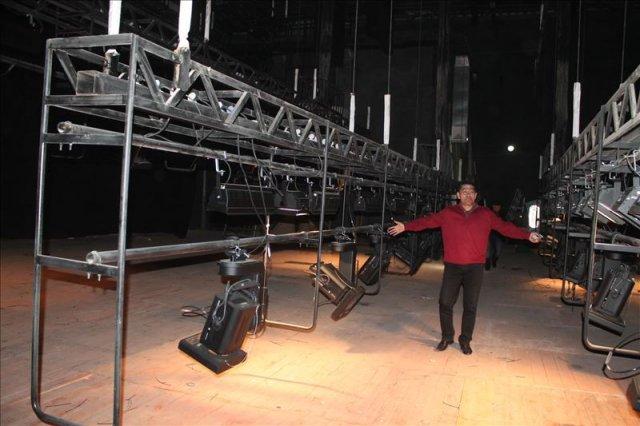 Освещение - особая гордость театра