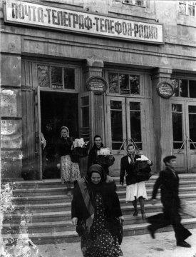 Здание главпочтамта в Чимкенте