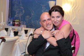 Ксения Ракова с мужем