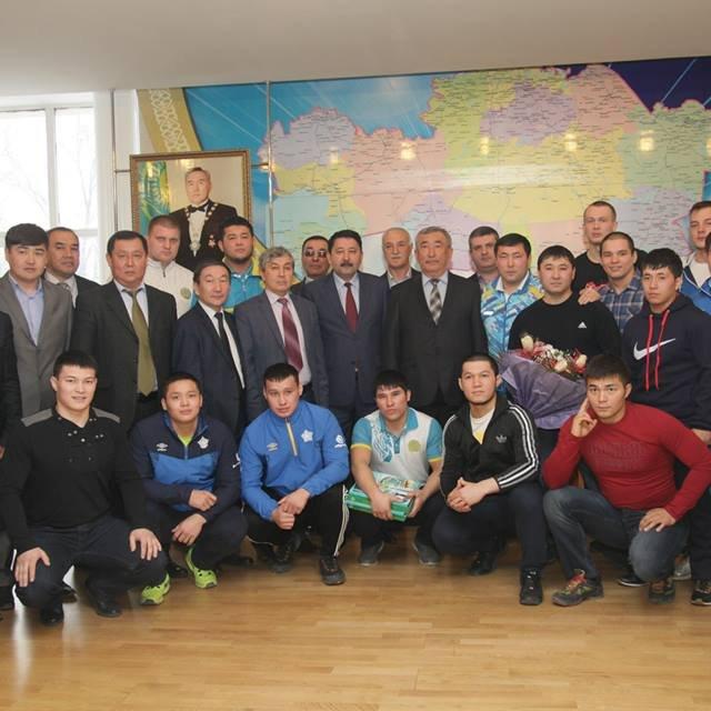 Встреча с командой Легендарного ИЛЬИ ИЛЬИНА в ЮКГУ