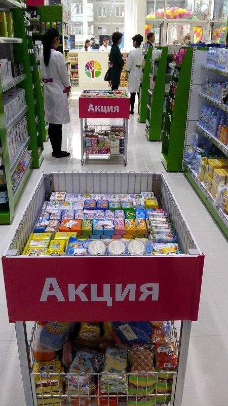 В честь открытия первого супермаркета здоровья, всех покупателей ждет неделя подарков