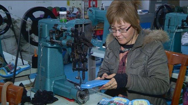 """Открытая пол года назад, на территории индустриальной зоны """"Онтустик"""", фабрика обеспечила работой 15 человек"""