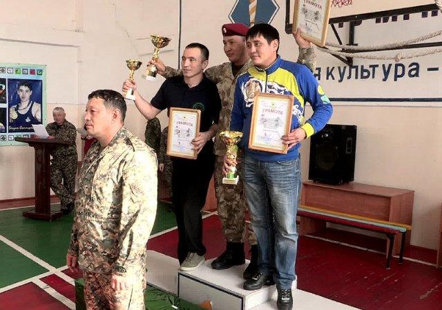 Шымкентские спецназовцы Нацгвардии РК выиграли первенство страны по рукопашному бою