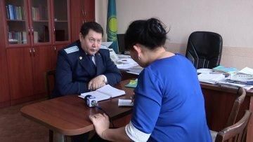 Ермек Айтимов, заместитель прокурора Абайского района