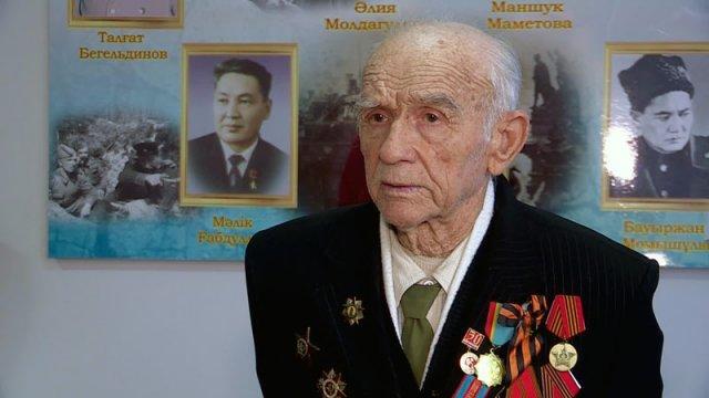 Ветеран из Кентау поедет на парад Победы в Москву